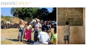 exquisite safaris philanthropic travel