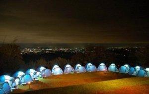 Glamping_Situgunung_West Java_campsite_in_the_night_3