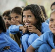 Pratham Educ Program_Smiling girl