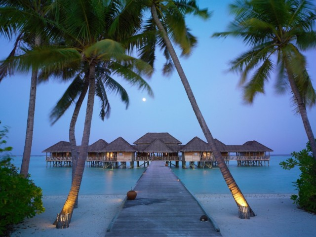 Soneva Gili, one of the many high-end resorts that make up Maldives' tourism industry, a major economic sector. Photo: Soneva Gili Resort