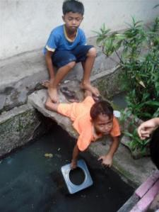 The unsanitary habits are an unfortunate daily reality. Photo: Jakarta Hidden Tour