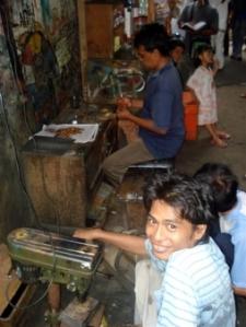 Jakarta's slums are abuzz with economic activity. Photo: Jakarta Hidden Tour