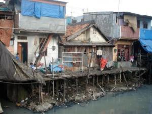 Slum area in Jakarta. Photo: Jakarta Hidden Tour