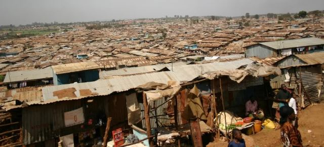 Kibera Slums, Nairobi. Home to an estimated 800,000. Photo: Frances Woodhams
