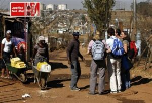 Poverty Tourism in South Africa proving popular.