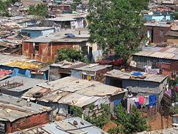 Johannesburg - Soweto slum area