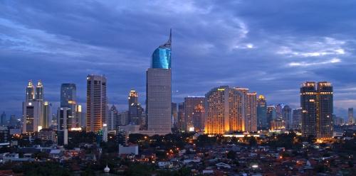 Jakarta CBD-Skyline