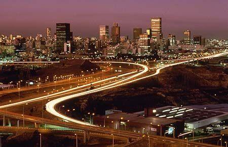 Johannesburg-CBD Area