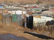 Johannesburg-Slum Area