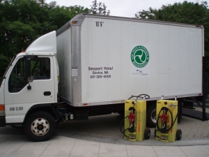 Seaport Hotel Boston-Biodiesel Truck